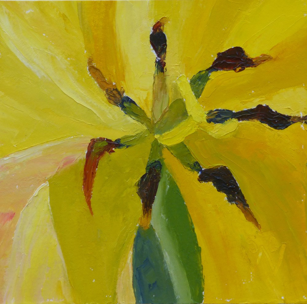 """In a Spin"" original fine art by Susan Woodward"