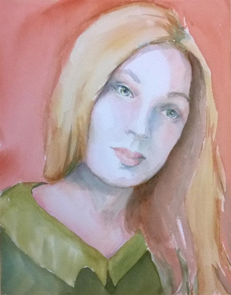 """Self Portrait #3"" original fine art by Crisynda Buss"