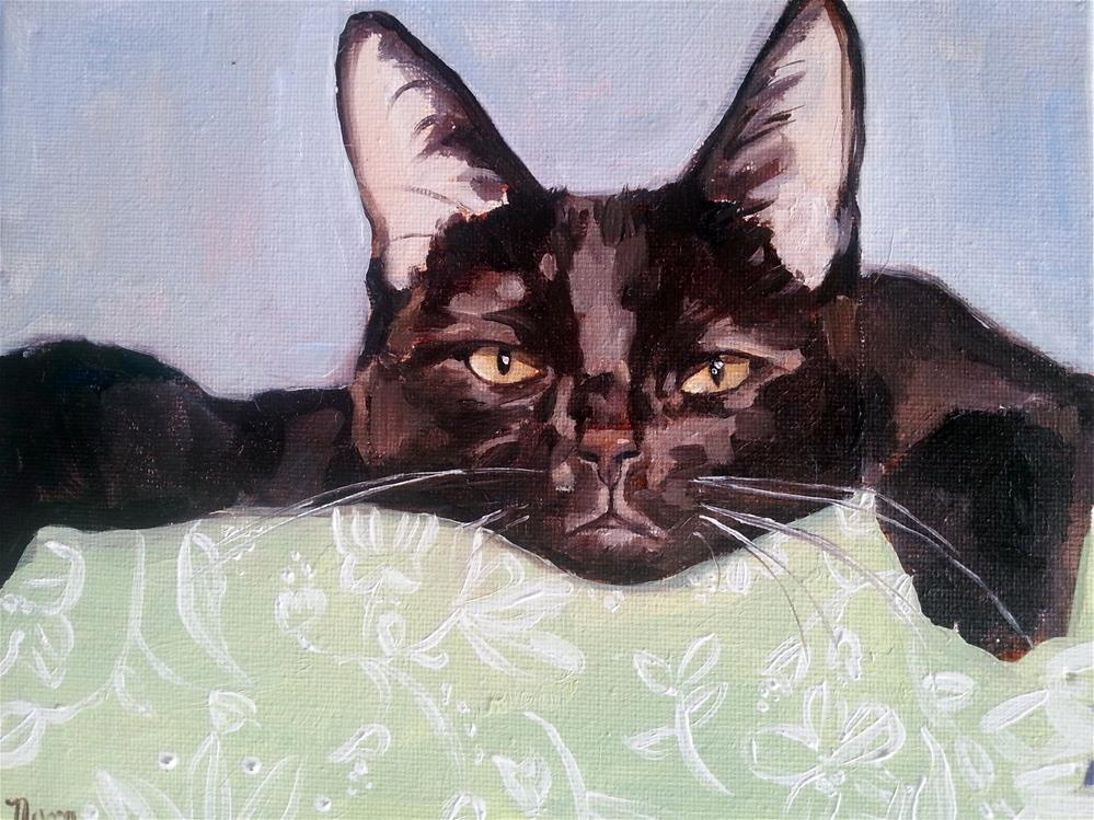 """Black Beauty"" original fine art by Nava Judith"