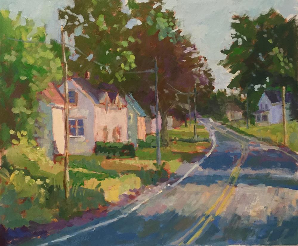 """Heading Home"" original fine art by Barb Walker"