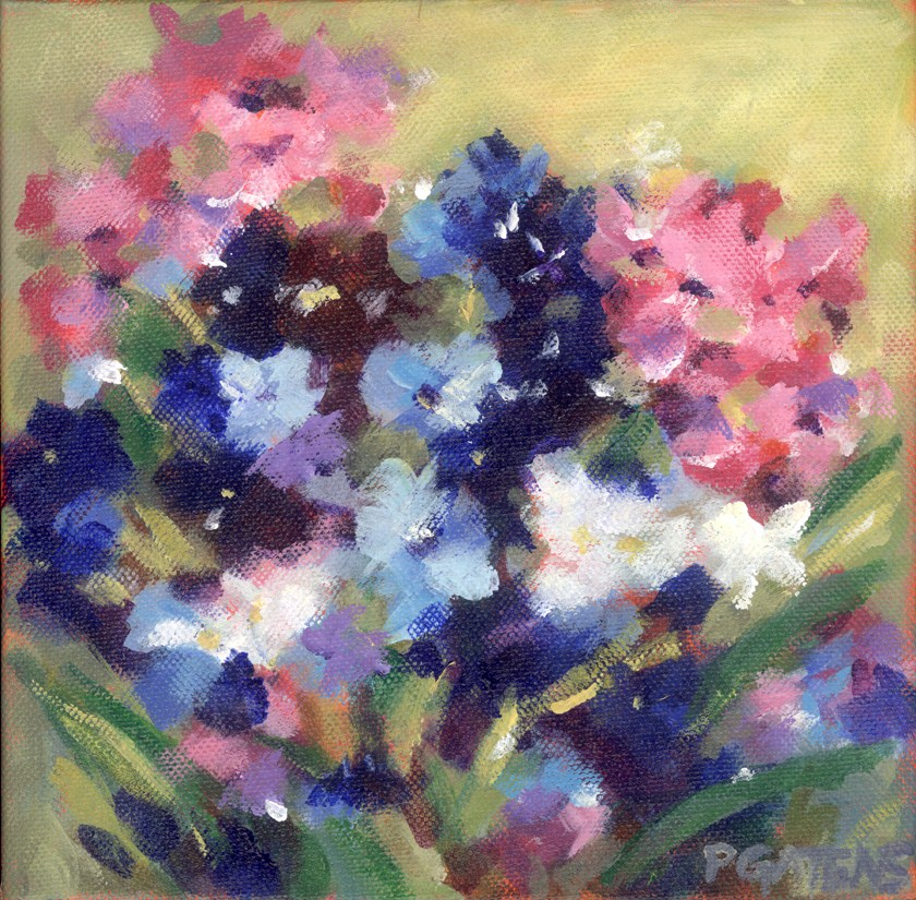 """Phlox"" original fine art by Pamela Gatens"