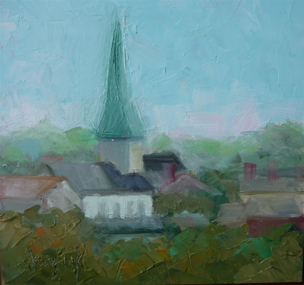 """View from Chatham"" original fine art by Carol Josefiak"