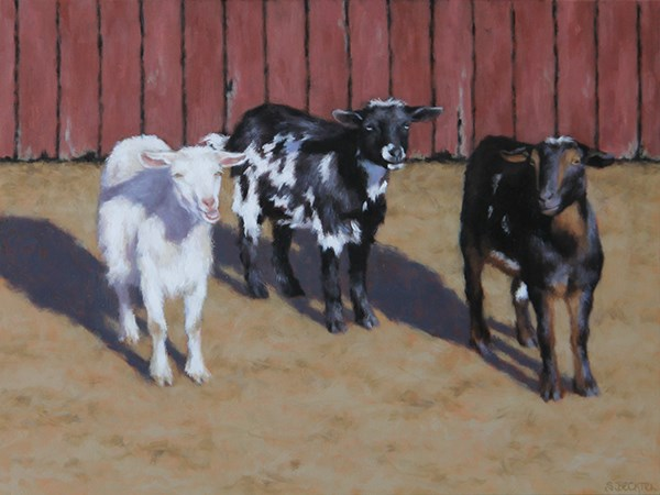 """Blackwood Farm"" original fine art by Sarah Becktel"