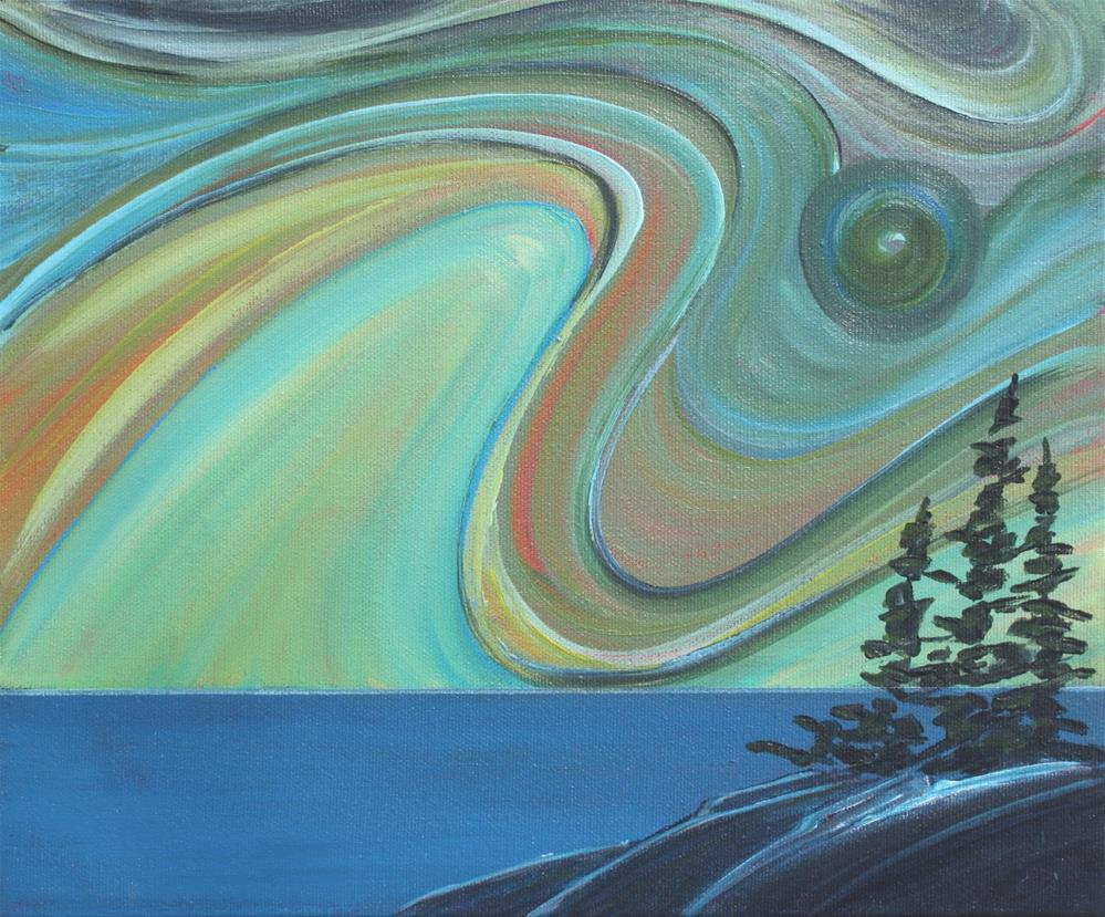 """Colour of the Wind: Looking Out"" original fine art by Sage Mountain"