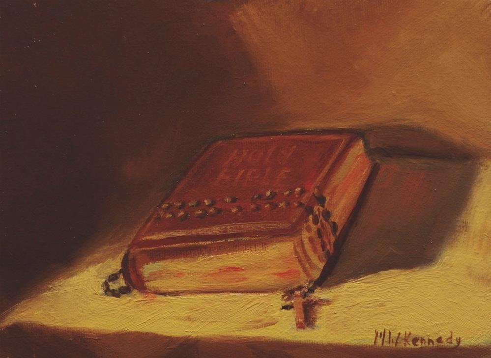 """He Restoreth My Soul"" original fine art by Michael Kennedy"