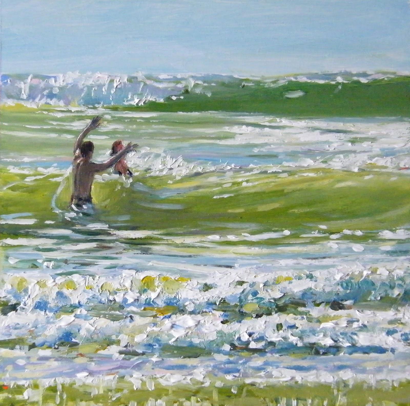 """""""Martin & Sarah"""" original fine art by Ken Devine"""