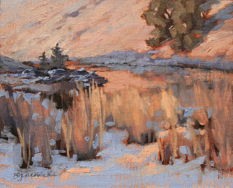 """The Base of Smith Rock"" original fine art by Barbara Jaenicke"