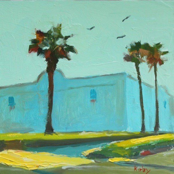 """27th and Seawall"" original fine art by Randall Cogburn"