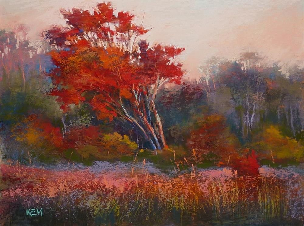 """Tips for More Lyrical Trees"" original fine art by Karen Margulis"