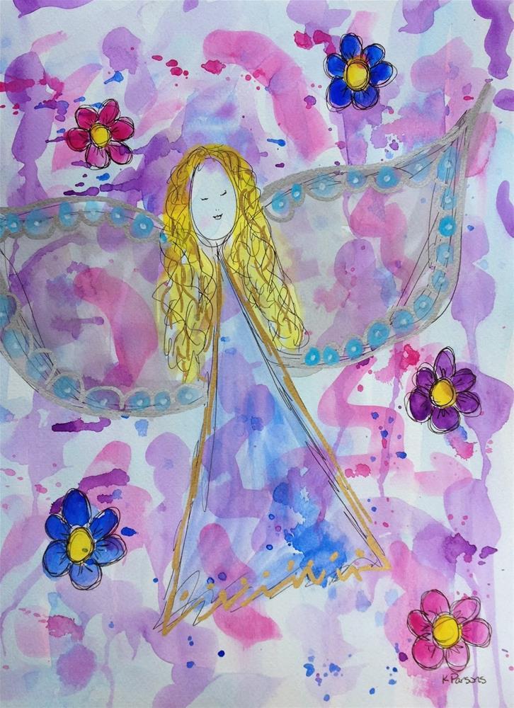 """""""In Flight"""" original fine art by Kali Parsons"""