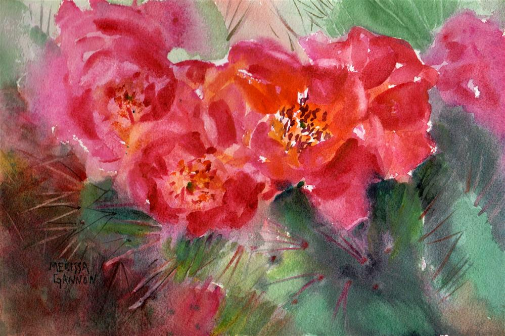 """A Spring to Remember"" original fine art by Melissa Gannon"