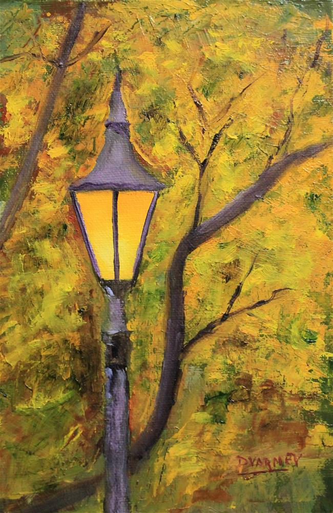 """Lamp Post"" original fine art by Daniel Varney"