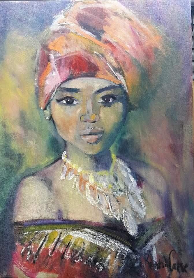 """Family jewels"" original fine art by Rentia Coetzee"