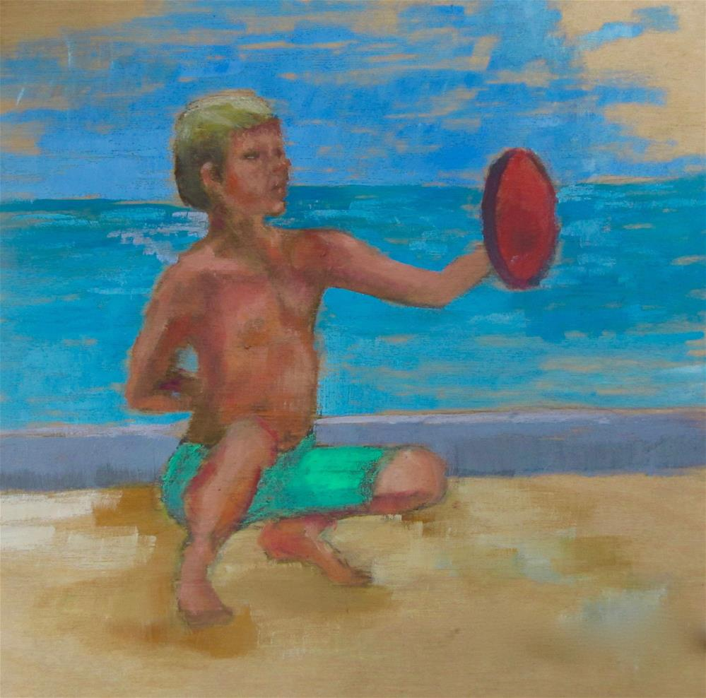 """Ready For the Pros"" original fine art by Christine Holzschuh"