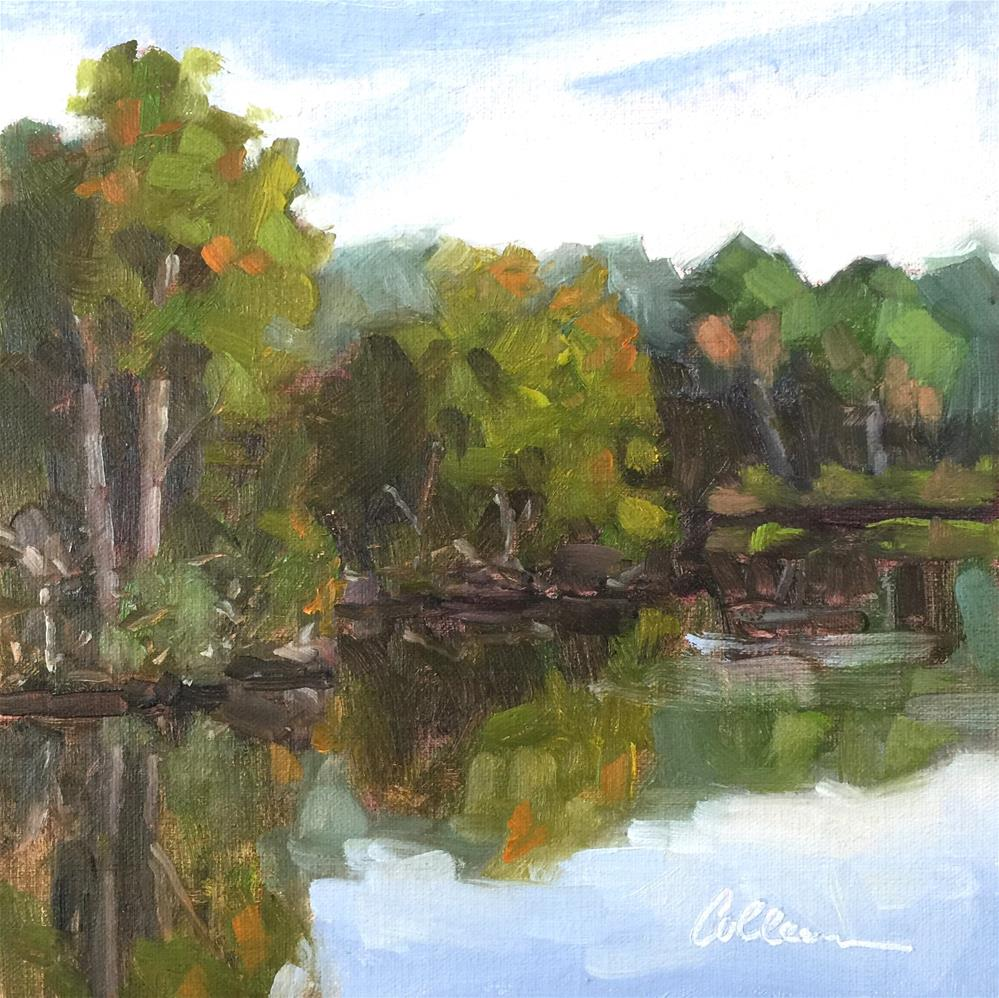 """Quiet Reflections"" original fine art by Colleen Parker"