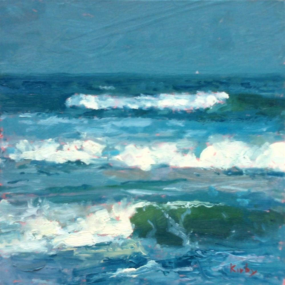 """How Deep is the Ocean"" original fine art by Randall Cogburn"