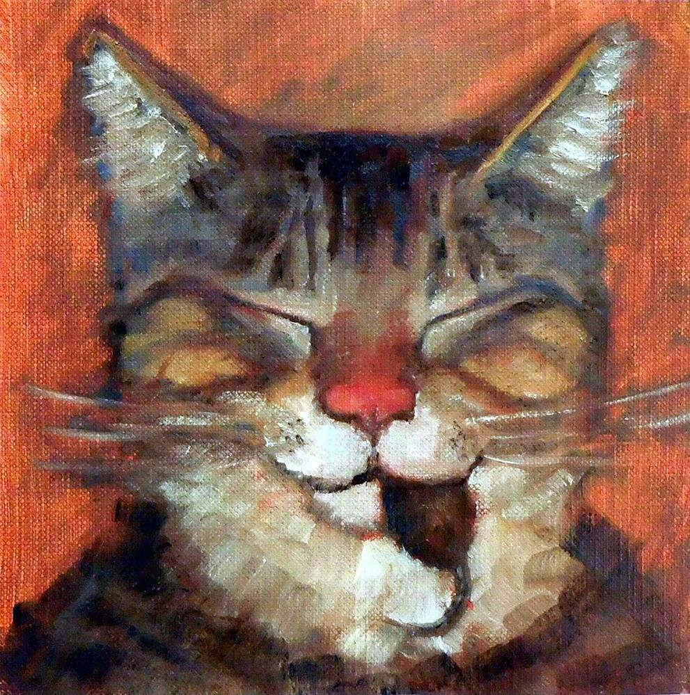 """Eat Prey, Love"" original fine art by Cietha Wilson"