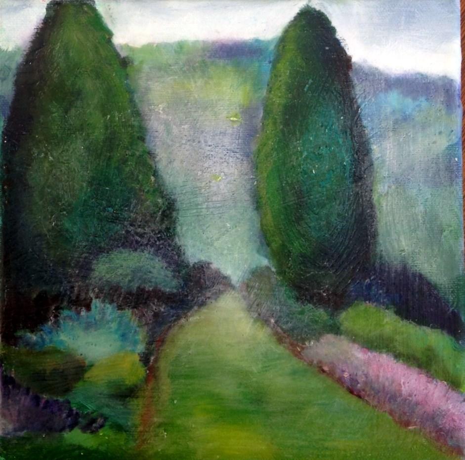 """The Secret Place"" original fine art by barbara quast"