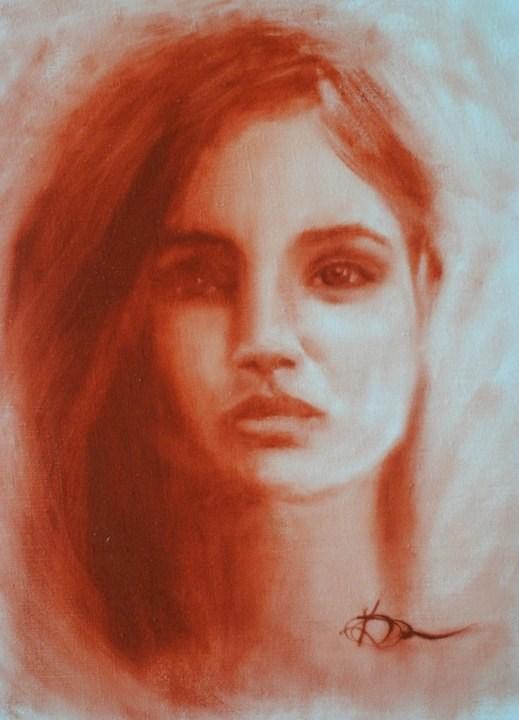 """Anastasha"" original fine art by Kelly Berkey"