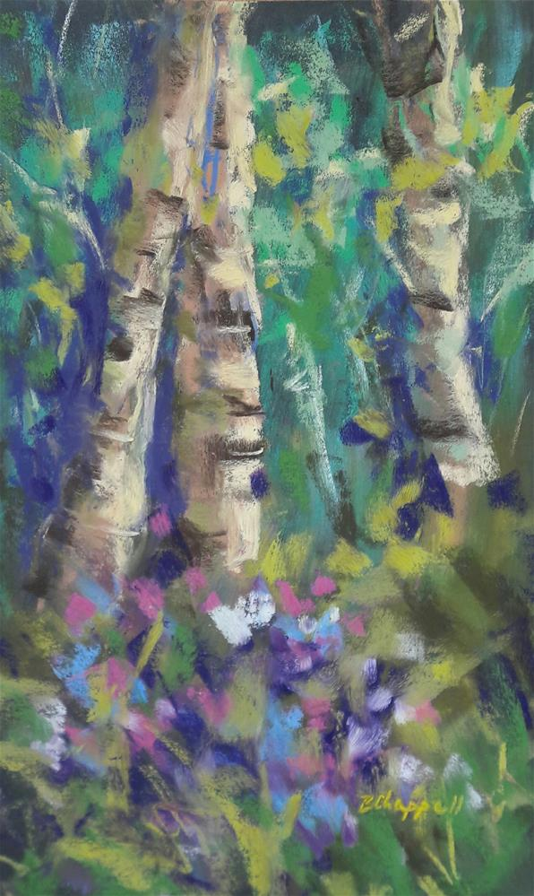 """Inviting Shade"" original fine art by Becky Chappell"