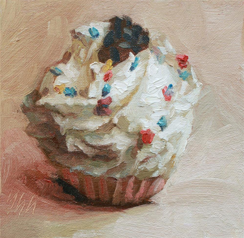 """""""Sweet"""" original fine art by Yuehua He"""