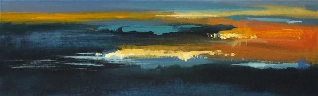 """Landscape 79"" original fine art by Ewa Kunicka"