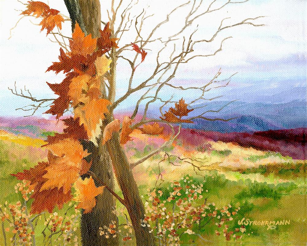 """""""Whispering Breezes"""" original fine art by Jeanne Strohrmann"""