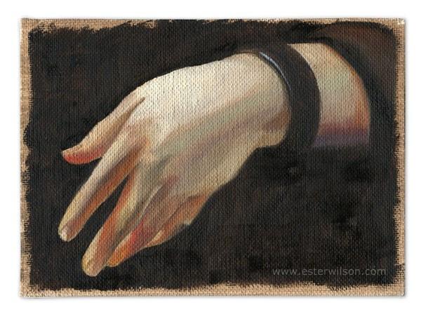 """Hand Study"" original fine art by Ester Wilson"
