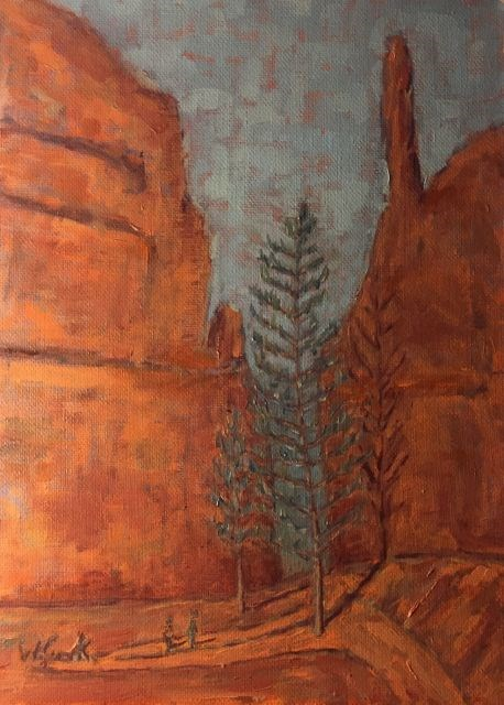 """Bryce Canyon"" original fine art by William Cook"