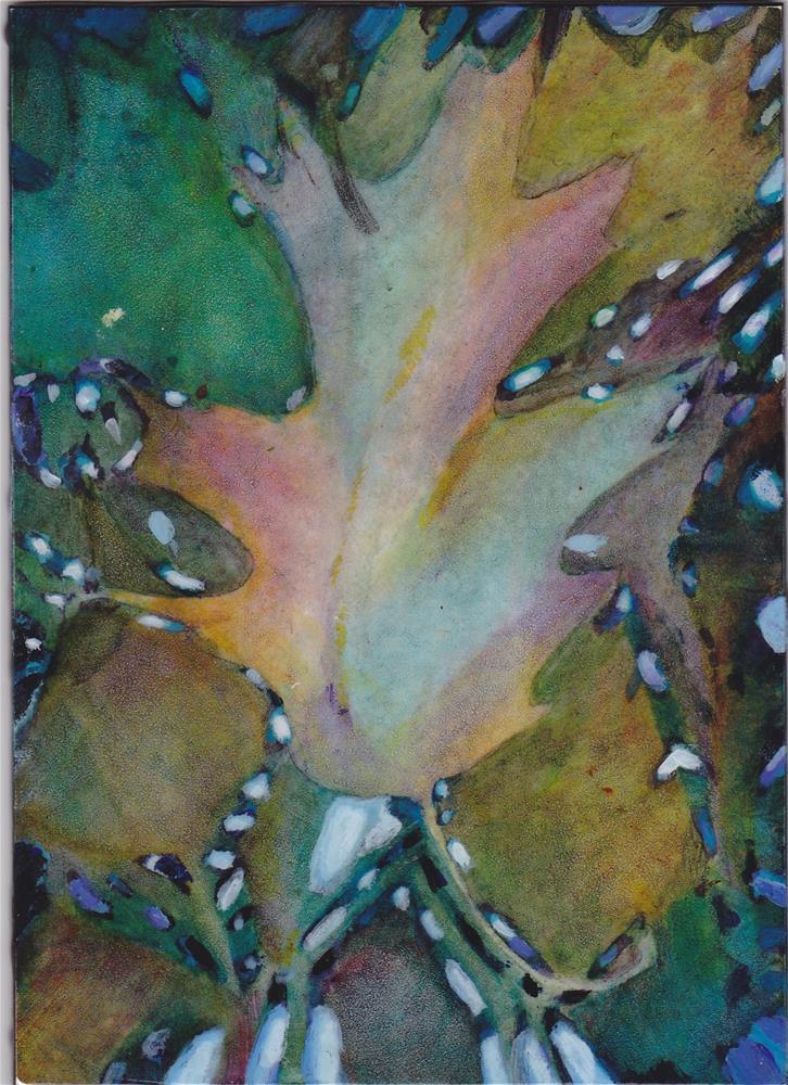 """Autumn Colors"" original fine art by Christiane Kingsley"