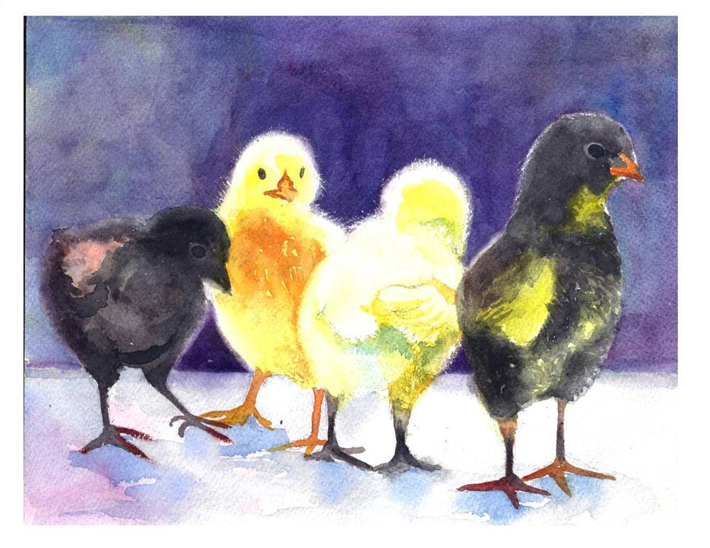 """Easter Challenge #2"" original fine art by Suzanne Woodward"
