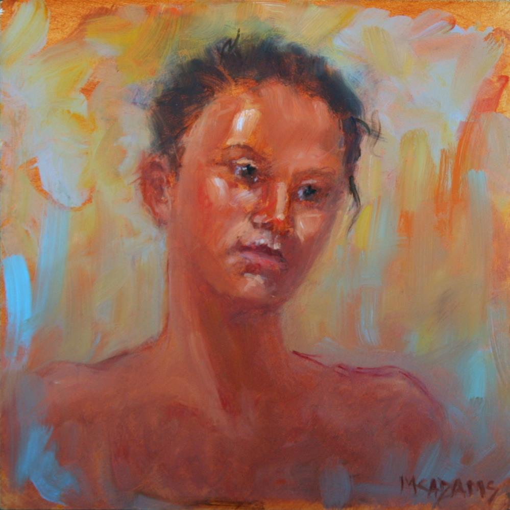 """Marissa"" original fine art by Phyllis McAdams"