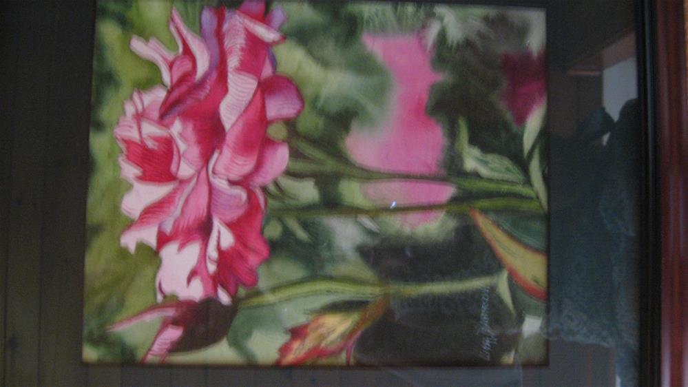 """PINK ROSE"" original fine art by Lisa Darrow"