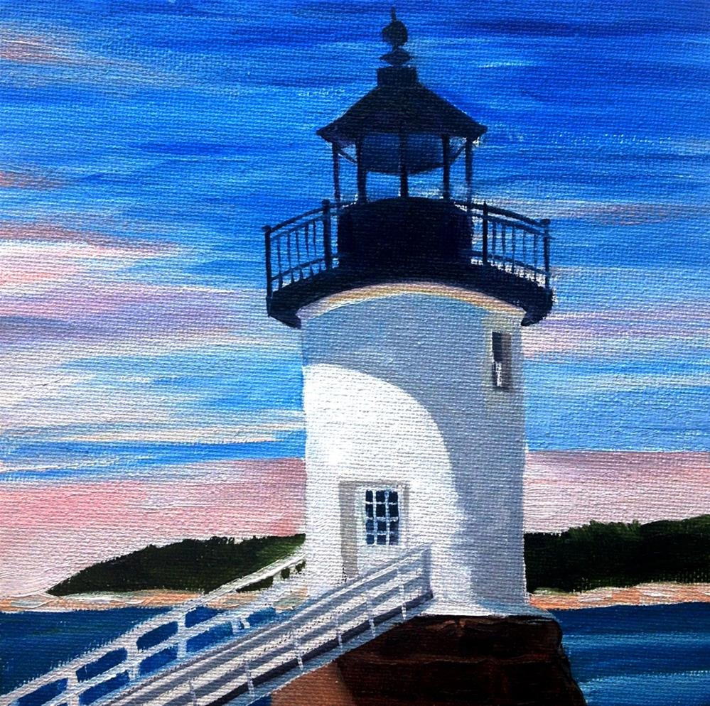 """Point Peaceful"" original fine art by Lauren Kuhn"