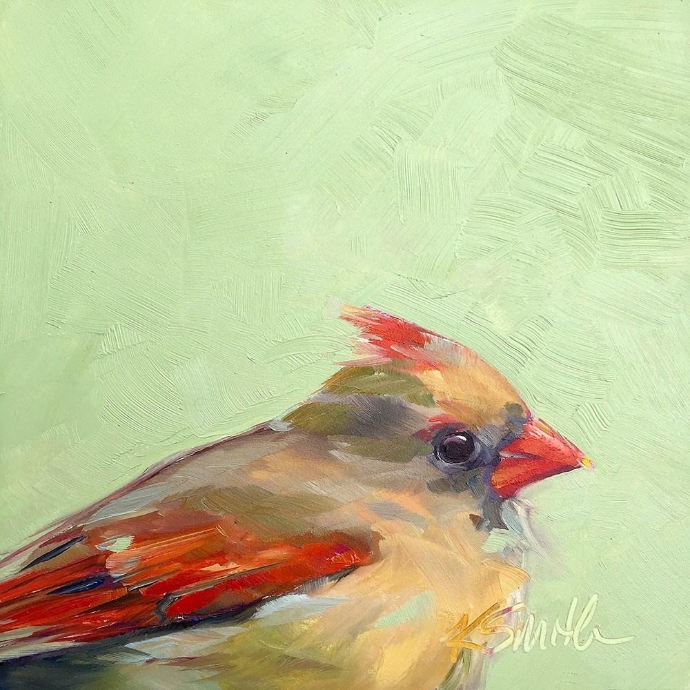 """rise & shine"" original fine art by Kim Smith"
