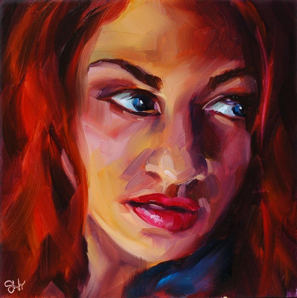 """Innuendo"" original fine art by Janette Harter"