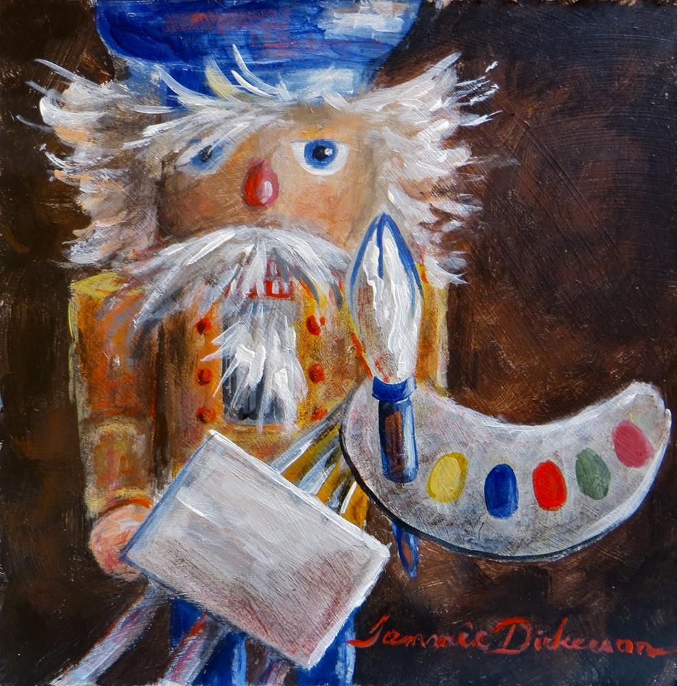 """Nutcracker Artist"" original fine art by Tammie Dickerson"