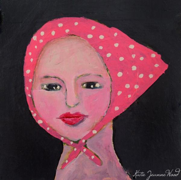 """Ellie Mae"" original fine art by Katie Jeanne Wood"