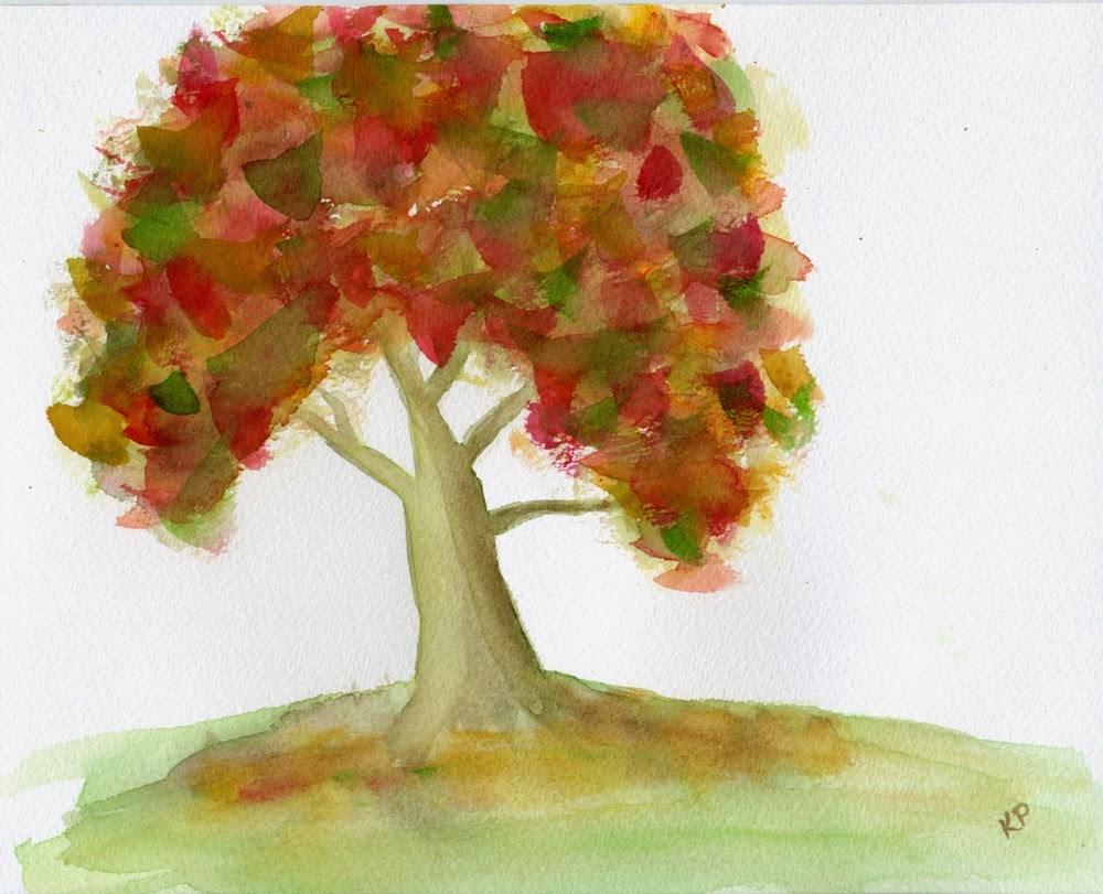 """The Fall"" original fine art by Kali Parsons"