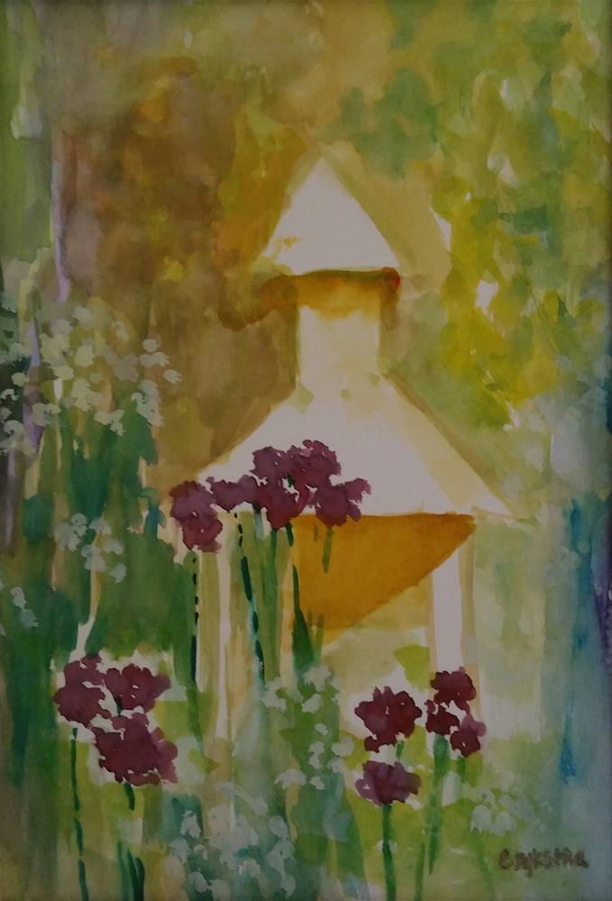 """Gazebo"" original fine art by Cathy Dykstra"