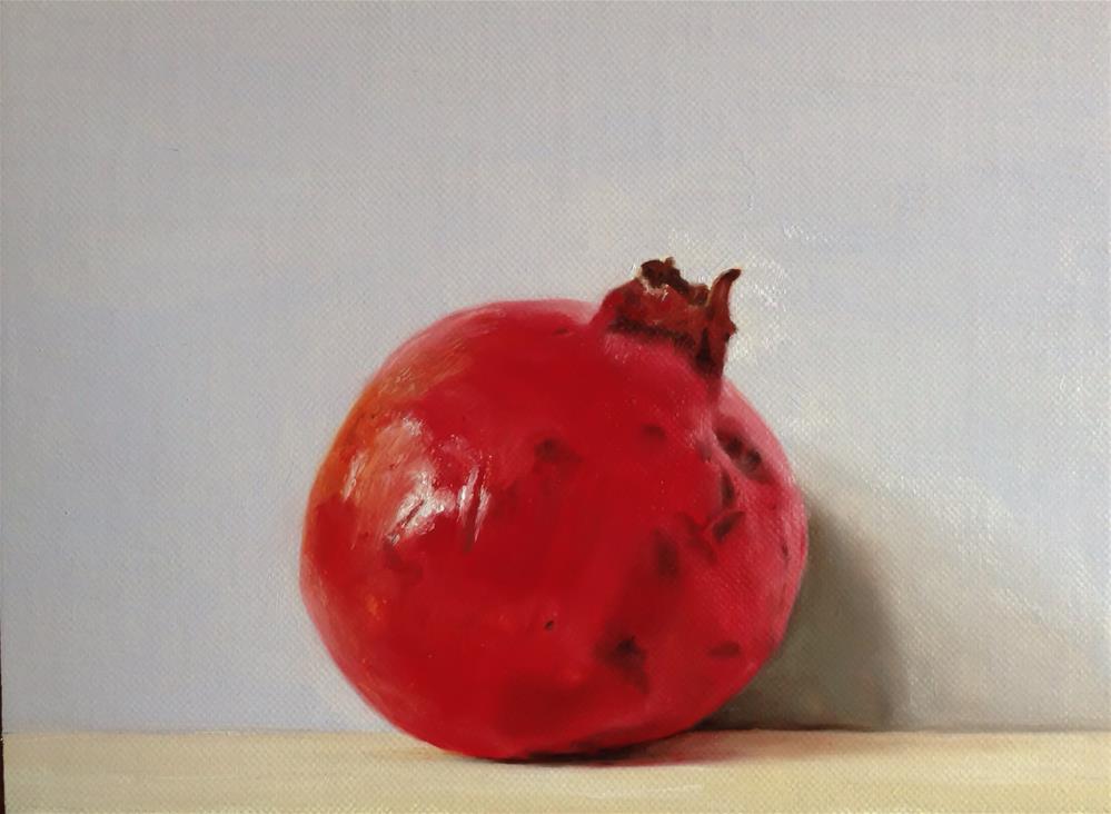 """Pomegranate"" original fine art by James Coates"