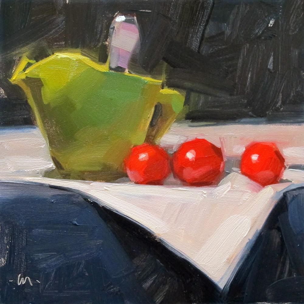 """""""Following Green"""" original fine art by Carol Marine"""