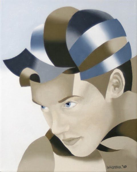 """""""Mark Adam Webster - The Bronze Age Abstract Oil Painting Series #8"""" original fine art by Mark Webster"""