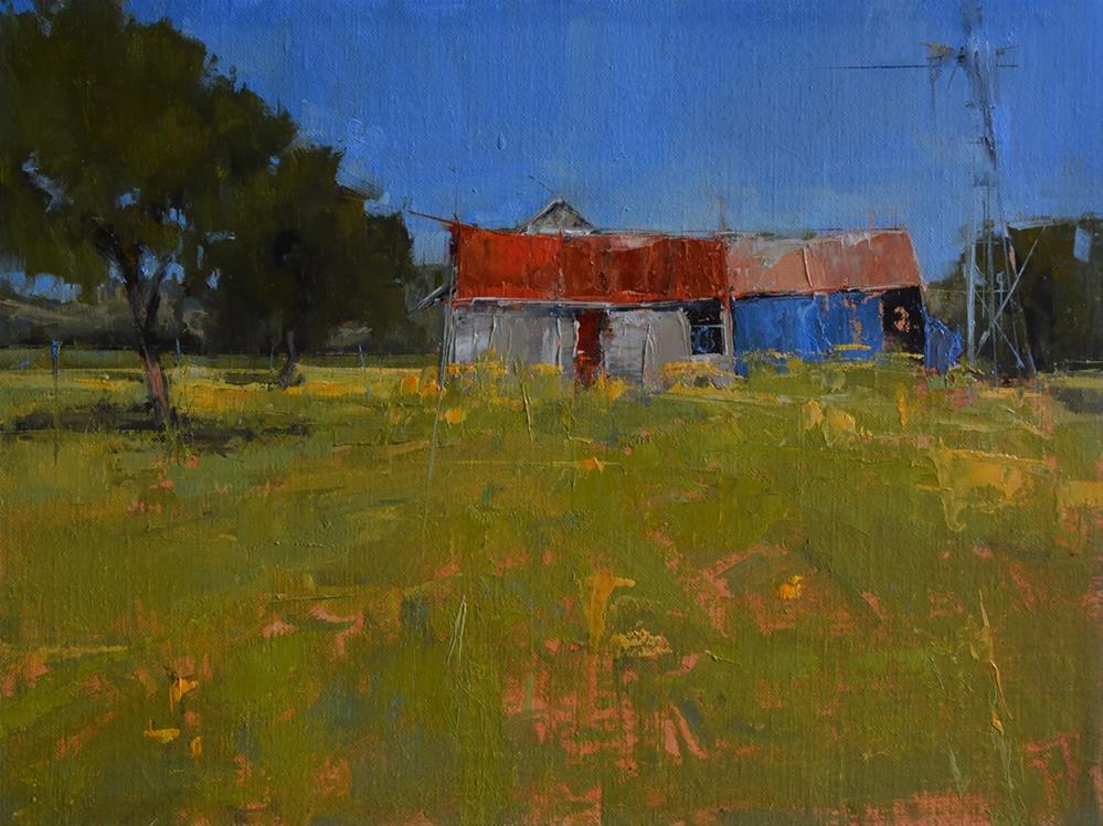 """The Add-On"" original fine art by Julie Davis"