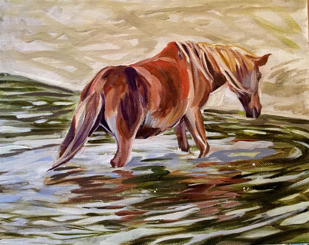 """Emerge"" original fine art by Lauren Kuhn"