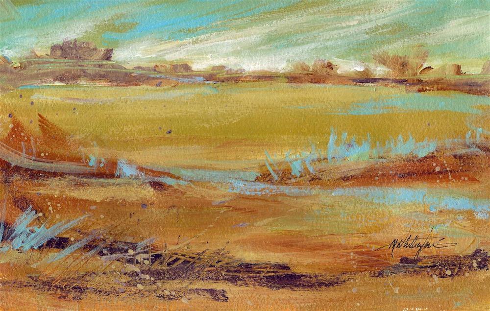 Southwest landscape original fine art by Margie Whittington