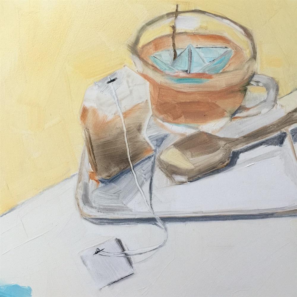 """""""274 Truce"""" original fine art by Jenny Doh"""