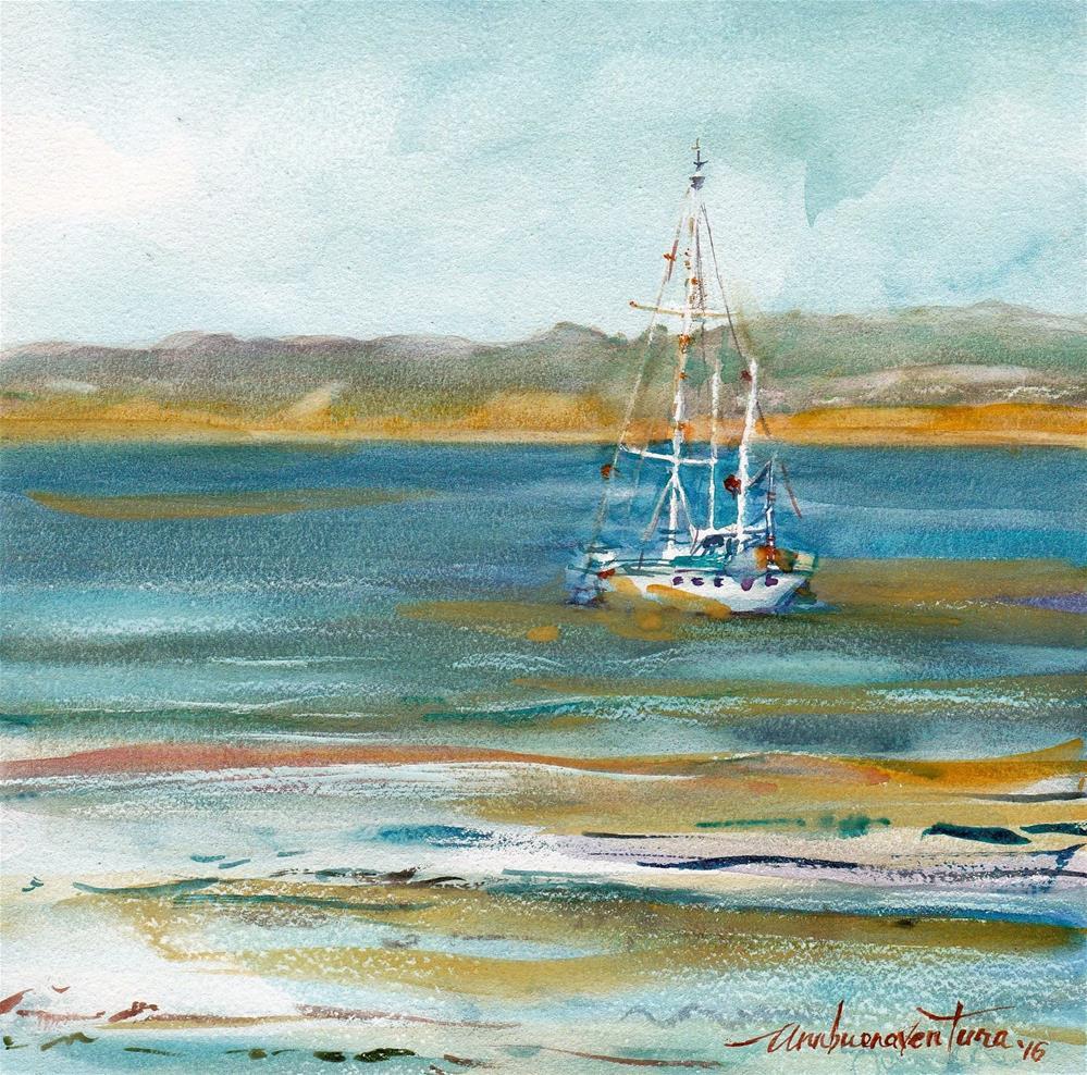 """""""Adrift"""" original fine art by Ann Buenaventura"""