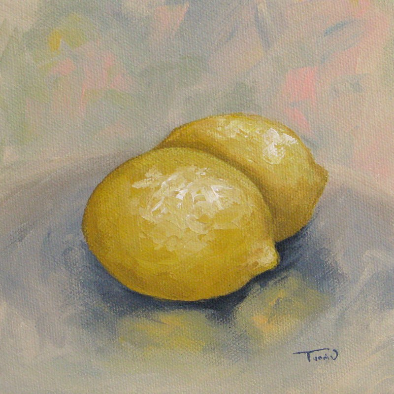"""Summer Lemons"" original fine art by Torrie Smiley"