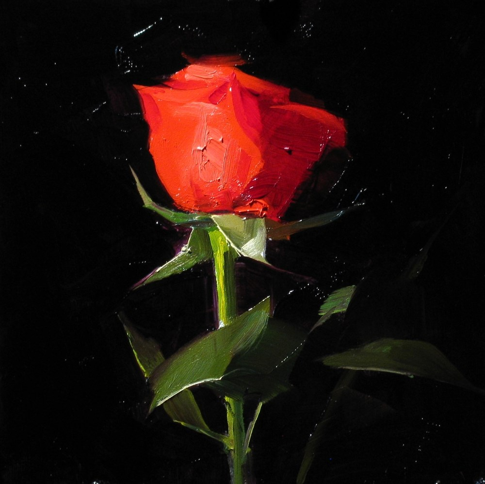 """To My Valentine 3"" original fine art by Qiang Huang"